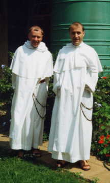 Fr. Marie-Dominique and Fr. Thomas